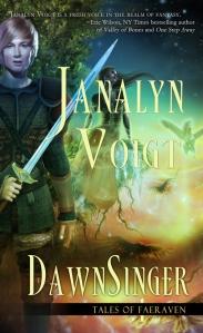 Cover of Janalyn Voigt's book DawnSinger