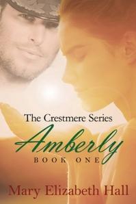 The cover of Mary Elizabeth Hall's sword opera novel Amberly