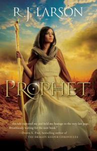 Cover of RJ Larson fantasy novel Prophet