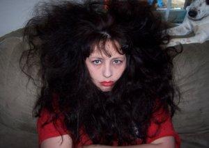 Crazy-Hair with attitude