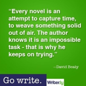 writer.ly writing quote David Beaty