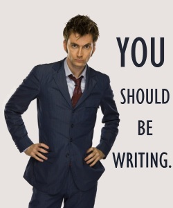 David Tennant Doctor Ten Writing