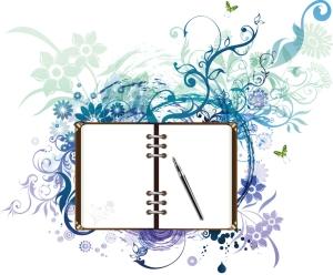 journal pen writing