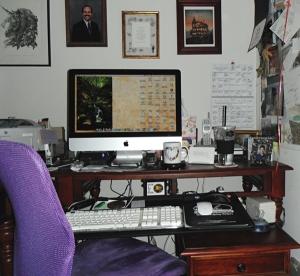 freelance editor desk