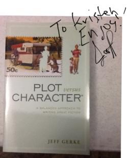 Plot v. Character signed