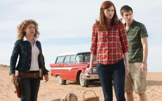 River Song Amy Pond Rory Williams