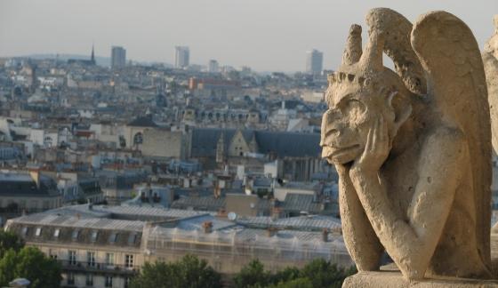 Gargoyle Notre Dame Paris