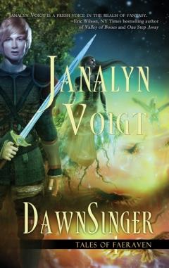 Dawnsinger fantasy book cover