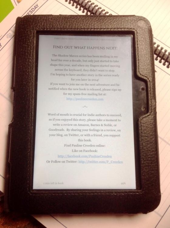 Kindle book promo