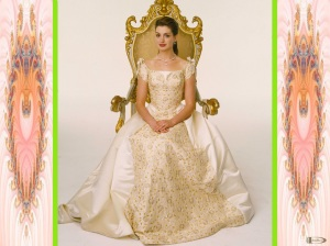 Pictured: Anne Hathaway stars as Mia in Princess Diaries 2: Royal Engagement.