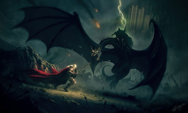 Lord-of-the-Rings-Eowyn-and-the-nazgul