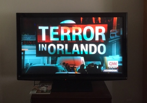 Terror attack in Orlando nightclub shooting