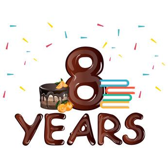 8 years anniversary
